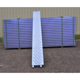 Lot de 30 planchers peints 3m x 0.30m Dacame