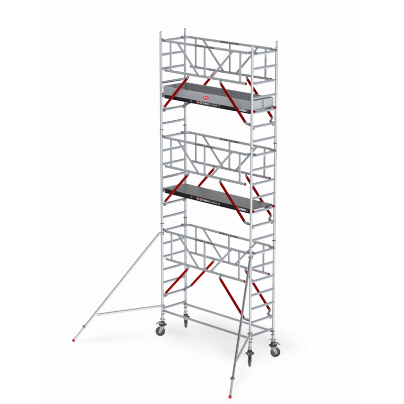 Echafaudage RS Tower 51 avec garde-corps Safe-Quick®